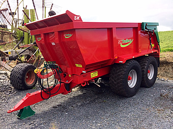18 Tonne Dump Trailer for Sale from SlurryKat Engineering Ltd