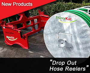 Drop Out Hose Reelers