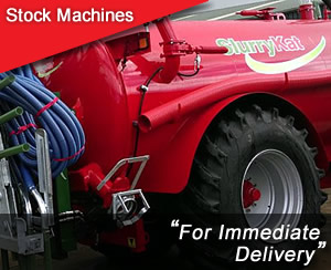 Stock Machines for Immediate Delivery